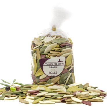 foglie d'ulivo 5 gusti con dettaglio