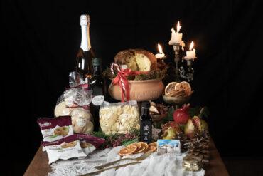 Cesta natalizia regalo senza glutine